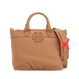 Tory Burch Stacked T Small Satchel Bag